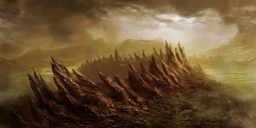 Living Swamp by Athayar