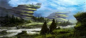 Dragon's fort by Athayar