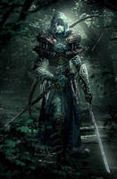 Dokkalfar Huntress by Athayar