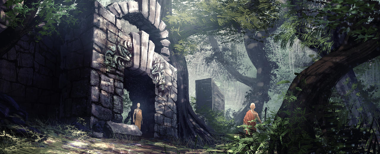 Wisdom Temple by Athayar