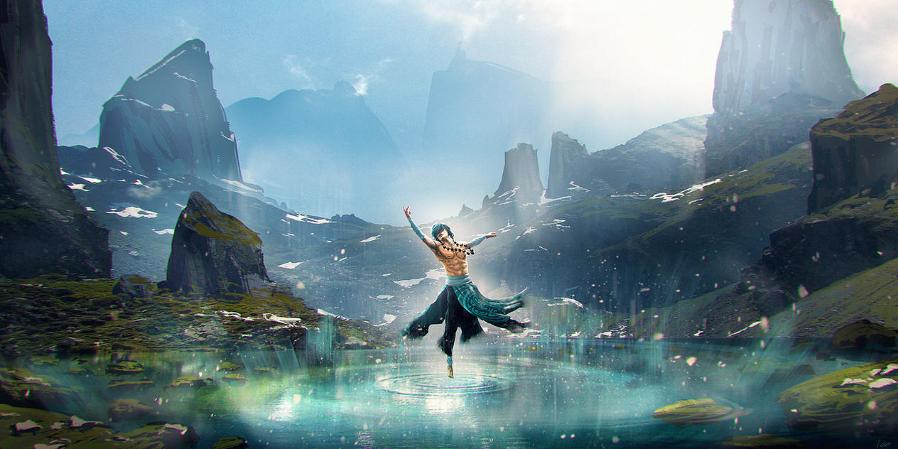 Water Dancer by Athayar