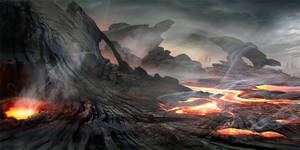 speed paint and photobash still by Athayar