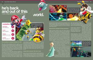Magazine Layout Design: Galaxy by BlakliteGraphics