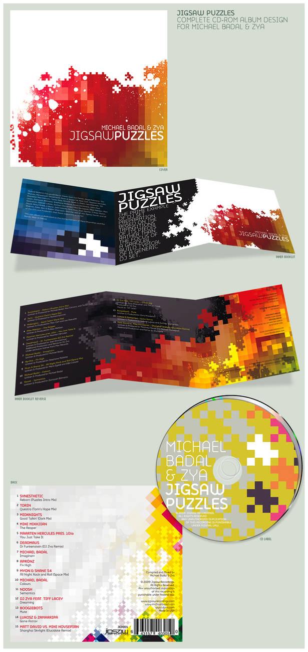 Jigsaw Puzzles Album Design