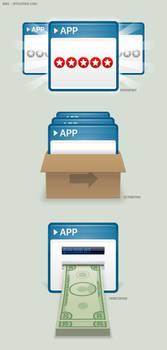 Bebo: Selling Apps Preso Icons