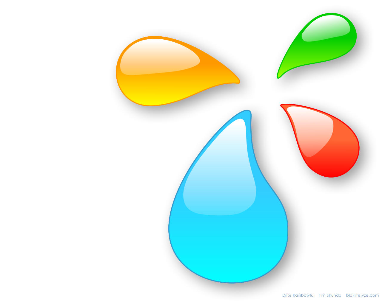 Drips 3.0 - glass OSX by BlakliteGraphics