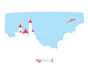 Ngmoco T-Shirt Design by BlakliteGraphics