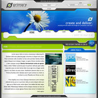 The Primary Designs 5 Design by BlakliteGraphics