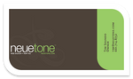 NeueTone Business Card Concept