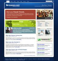 Myspace Redesign: Part Deux by BlakliteGraphics