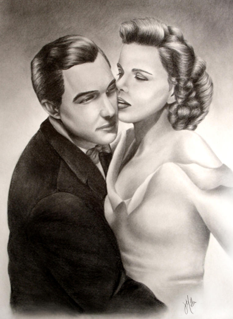 Gene Kelly and Judy Garland by ArteDiAmore