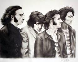 The Beatles by ArteDiAmore