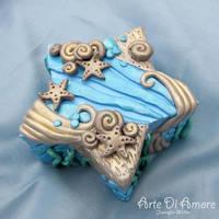 Undersea Star Box by ArteDiAmore