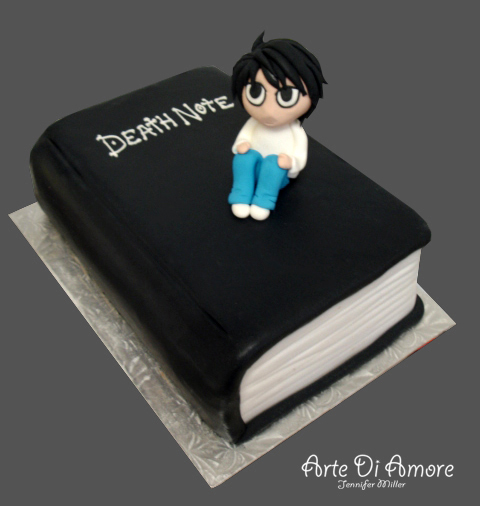 Death Note Cake by ArteDiAmore on DeviantArt