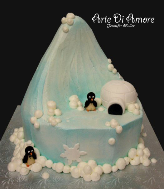 Iceberg Cake by ArteDiAmore on DeviantArt