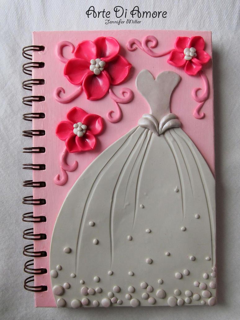 Pink Wedding Journal by ArteDiAmore on DeviantArt