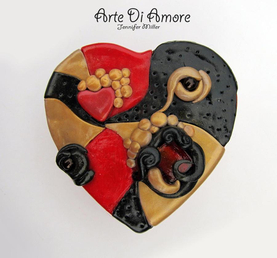 Heart Shaped Box by ArteDiAmore