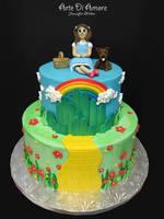 Wizard of Oz Cake by ArteDiAmore