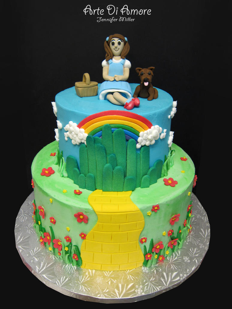 Cake Decorations For Wizard Of Oz : Wizard of Oz Cake by ArteDiAmore on DeviantArt