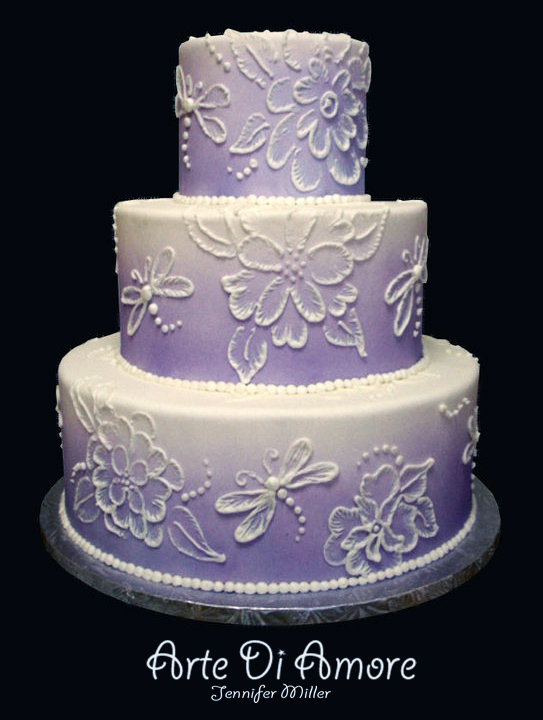 Wedding Cake Embroidery Designs