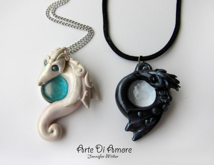 Dragon Pendants by ArteDiAmore