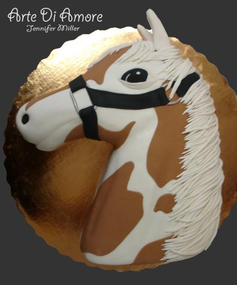 How To Make Horse Head Cake