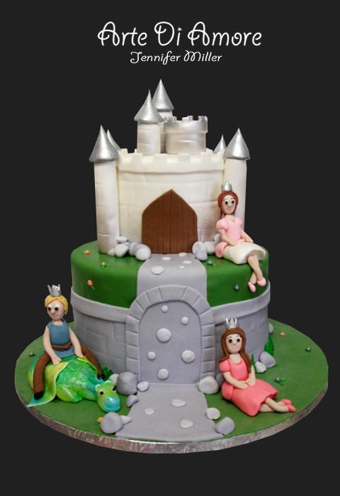 Castle Cake by ArteDiAmore