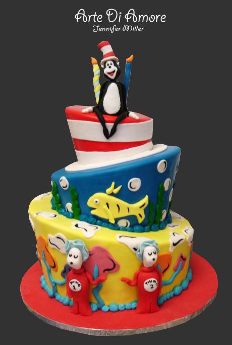 Dr Seuss Cake By Artediamore On Deviantart