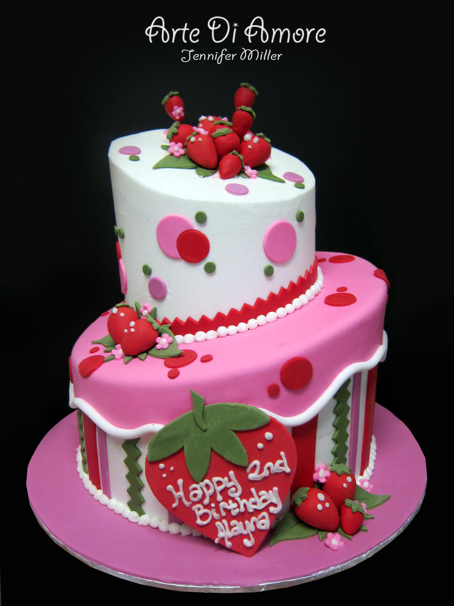 Beautiful Strawberry Cake Images : Strawberry Cake by ArteDiAmore on DeviantArt