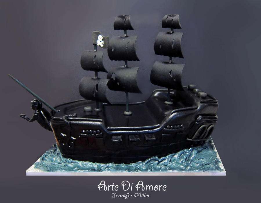 The Black Pearl by ArteDiAmore