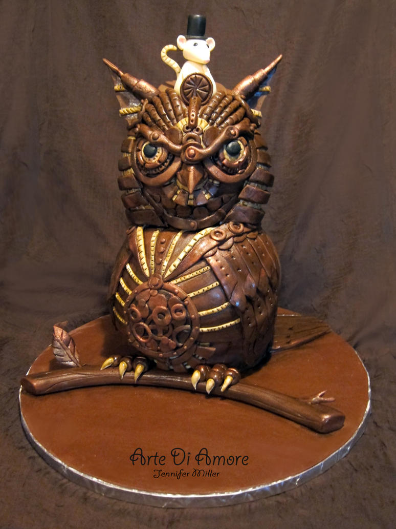 Happy Birthday Th Steampunk Cake