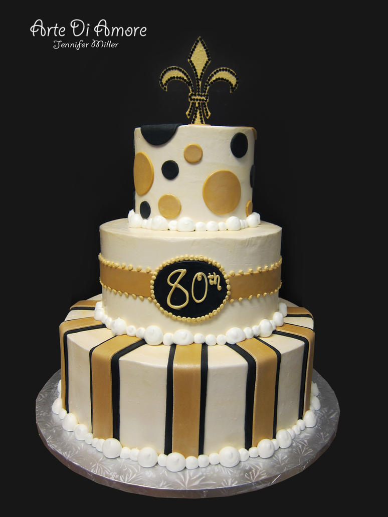 Black And Gold Cake By Artediamore On Deviantart