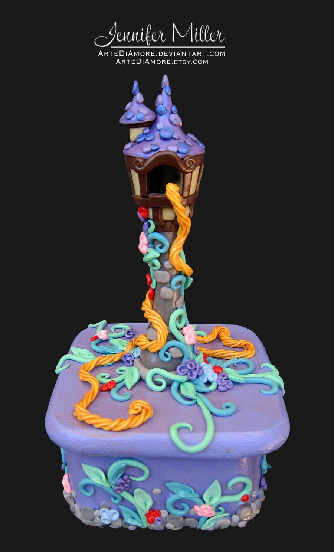 Rapunzel Jewelry Box by ArteDiAmore