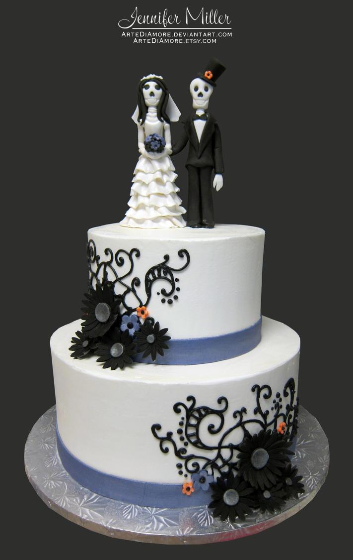Skeleton Wedding by ArteDiAmore