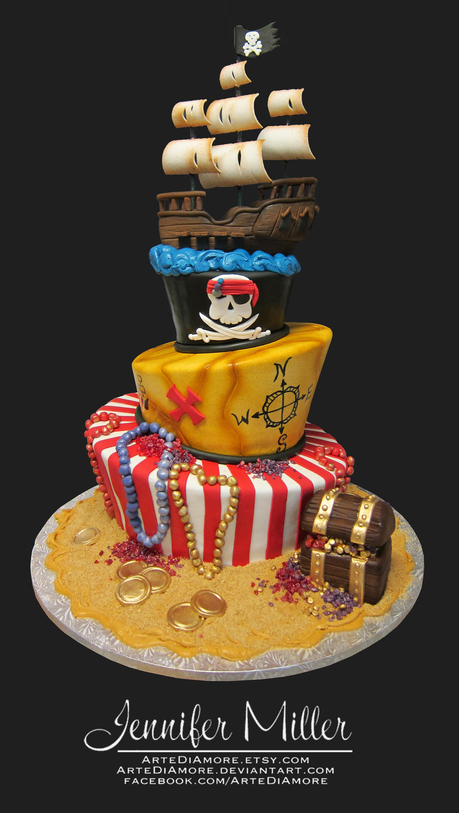 Pirate Cake Recipe Ideas