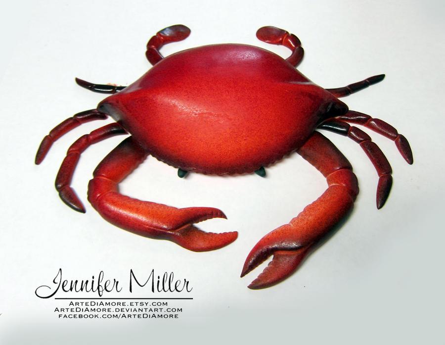 Fondant Crab by ArteDiAmore