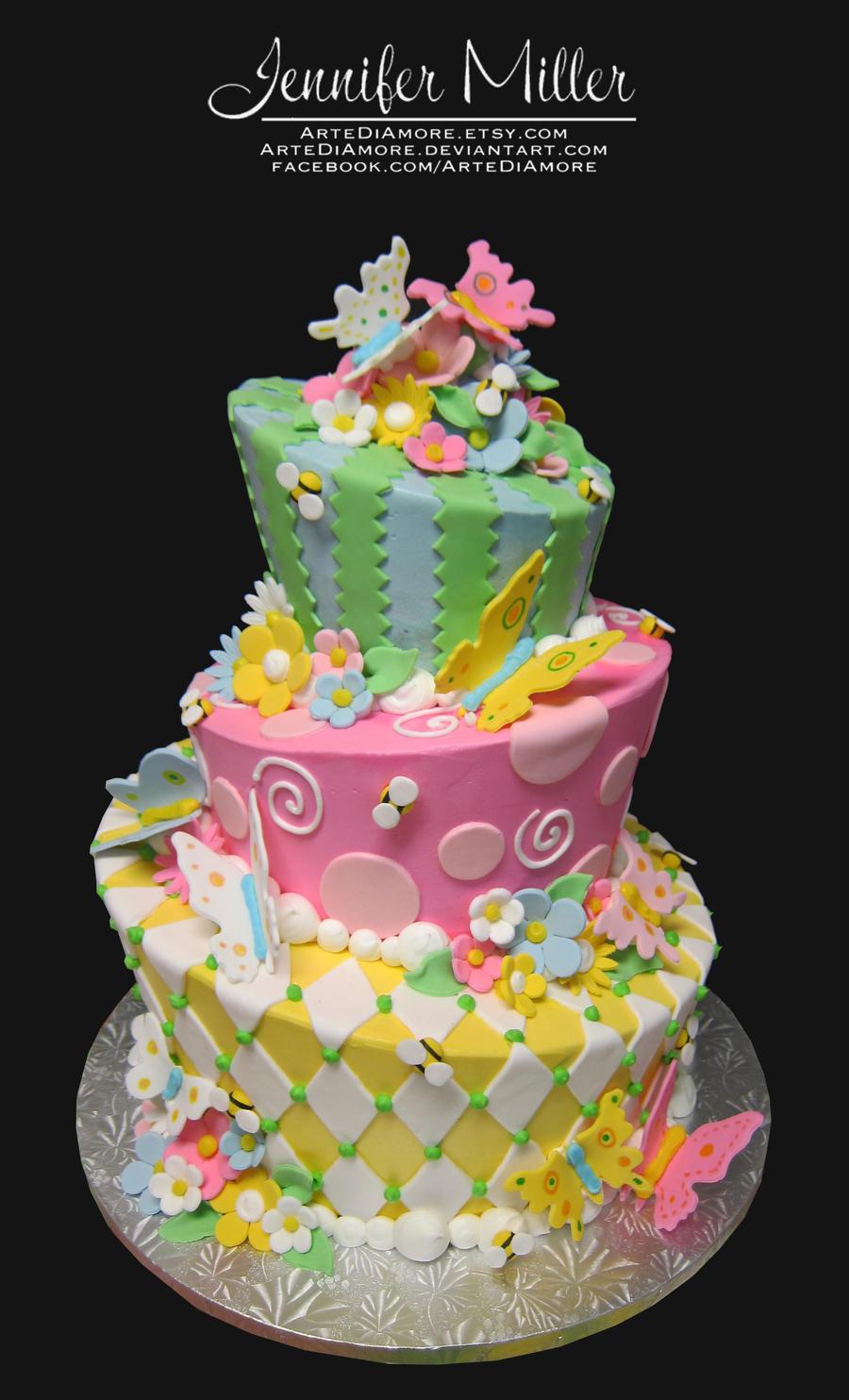 Spring Cake by ArteDiAmore