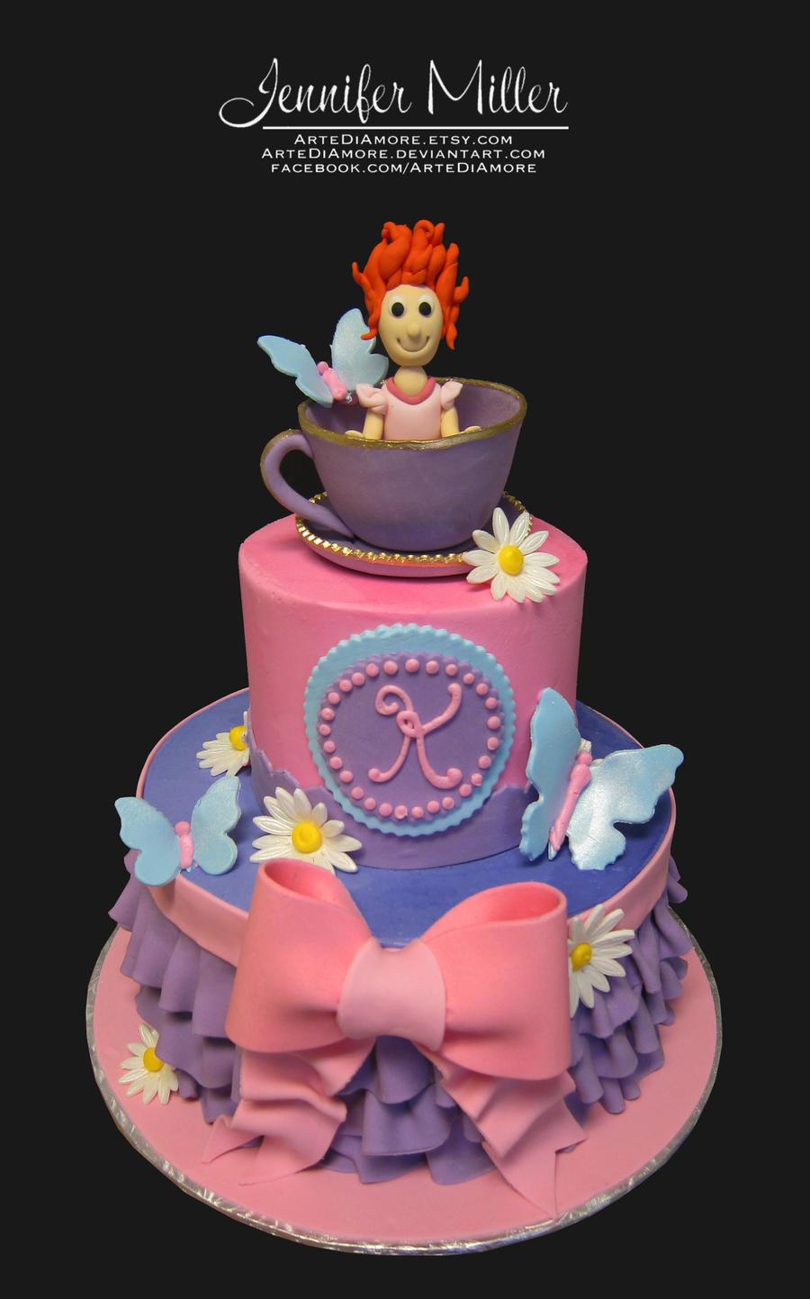 Fancy Nancy Cake Shop