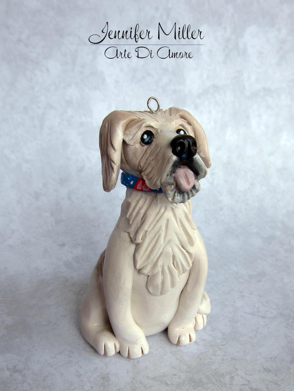 Custom Pet Ornament by ArteDiAmore