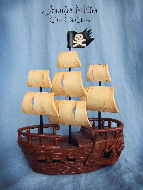 Pirate Ship by ArteDiAmore
