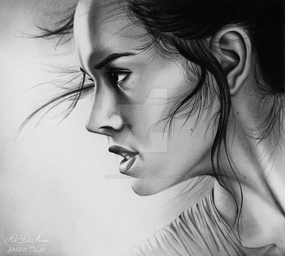 Rey Drawing by ArteDiAmore
