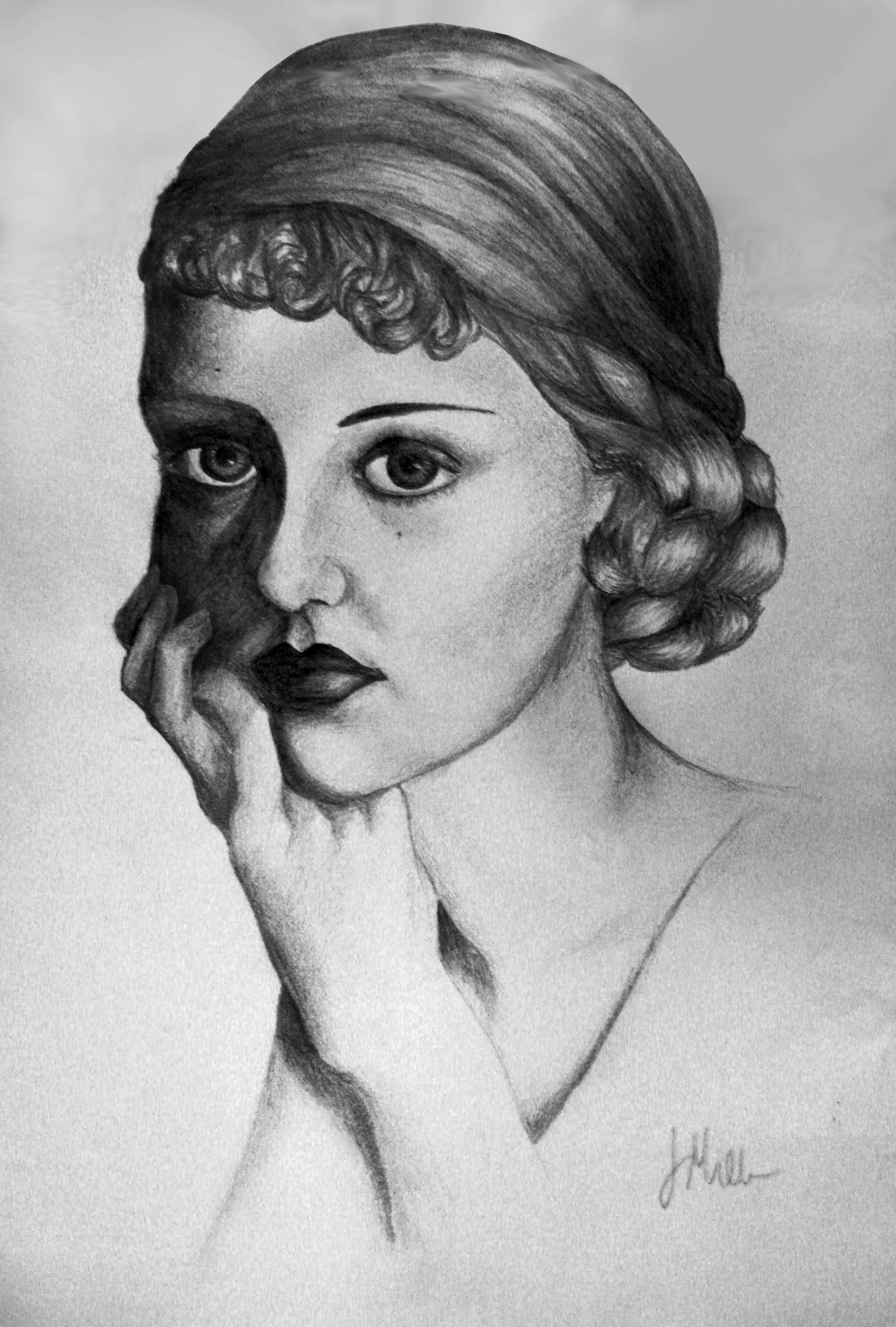 Young Bette Davis by ArteDiAmore