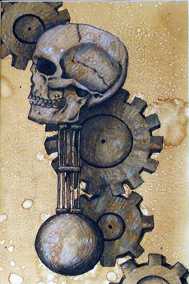 Human Clockwork by DraculaAzuri