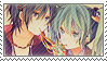 Miku x Kaito Stamp by Saigyou-Aia