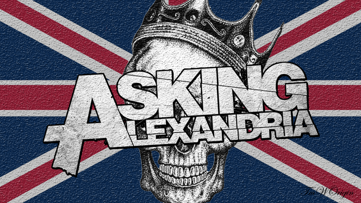 Asking alexandria wallpaper first try by tmworigin on deviantart asking alexandria wallpaper first try by tmworigin voltagebd Choice Image