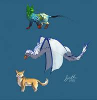 Corgi and creatures