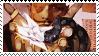Dorian Pavus Romance (Tarot Card) Stamp by PrinceDahlia