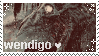 Wendigo fan Stamp by SourTeen666