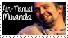 Lin Manuel Miranda Stamp by SourTeen666