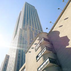 empire state building. by simoendli
